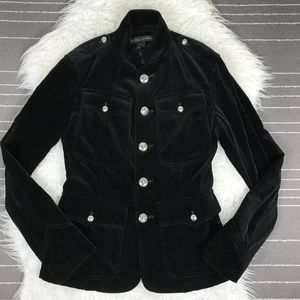 NEW Ralph Lauren Collection Velvet Blazer